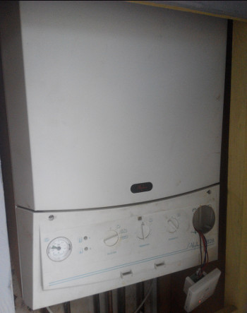 gas boiler installation cost Knottingley